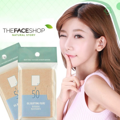 Giấy Thấm Dầu The Face Shop Daily Beauty Tools Oil Blotting Films