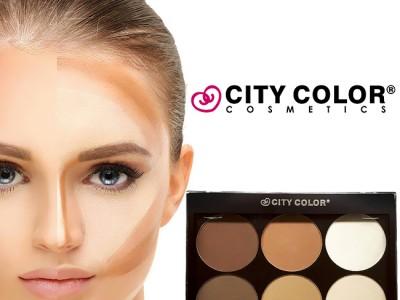 Phấn tạo khối 6 màu CITY COLOR Contour Effects On The Go
