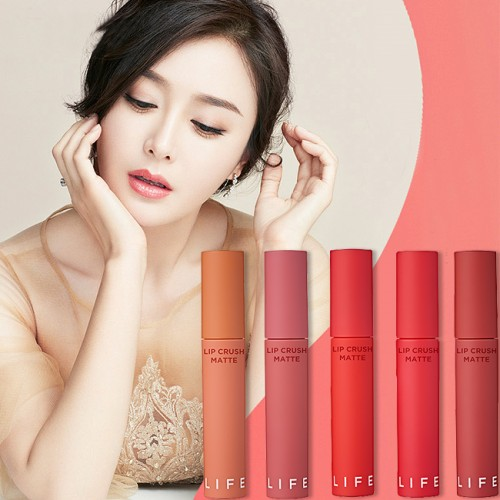 Son Kem Siêu Lì It's Skin Life Color Lip Crush Matte
