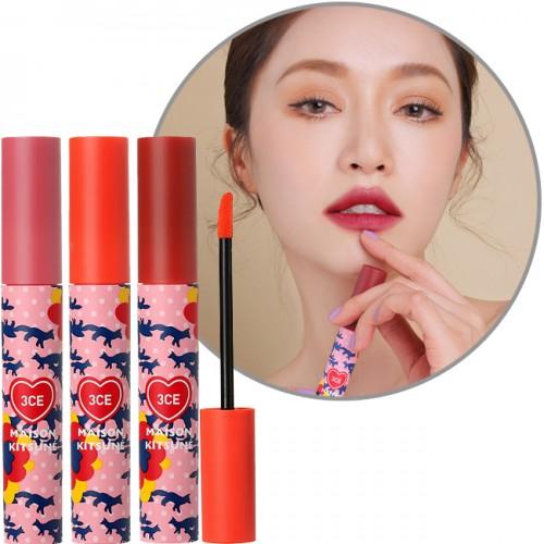 Son kem lì 3CE Maison Kitsune Velvet Lip Tint