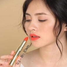 Son môi GOLD cao cấp chính hãng màu đỏ cam