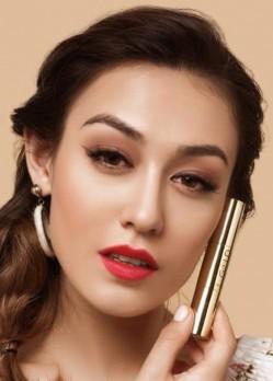 Son môi GOLD cao cấp chính hãng màu đỏ dâu