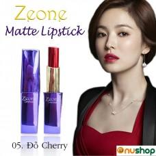 Son Môi Zeone Hàn Quốc màu Đỏ Cherry
