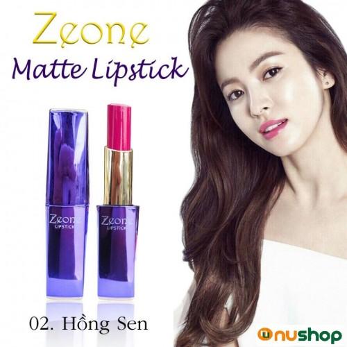 Son Môi Zeone Hàn Quốc màu hồng sen
