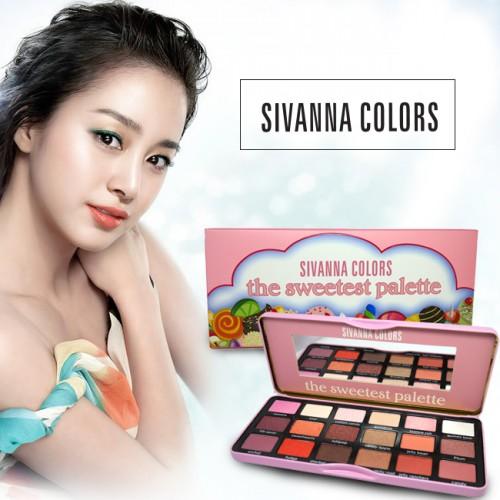 Bảng Phấn Mắt 18 Ô Sivanna Colors The Sweetest Palette