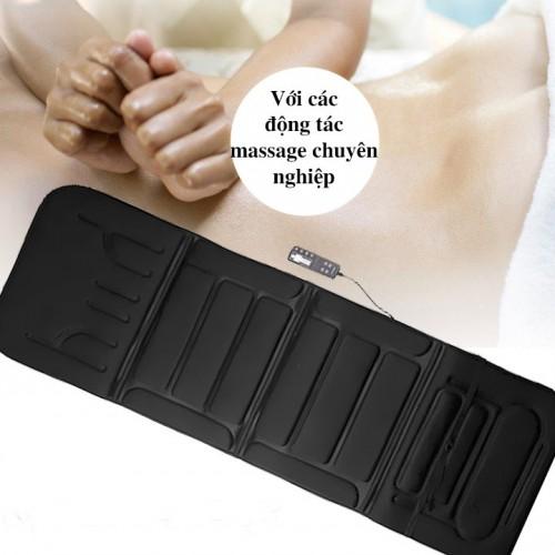 Nệm massage toàn thân Fuki Japan FK-M599 (thế hệ mới)