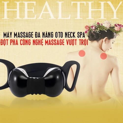 Máy massage cổ OTO Neck Spa NA-99 (màu đen)