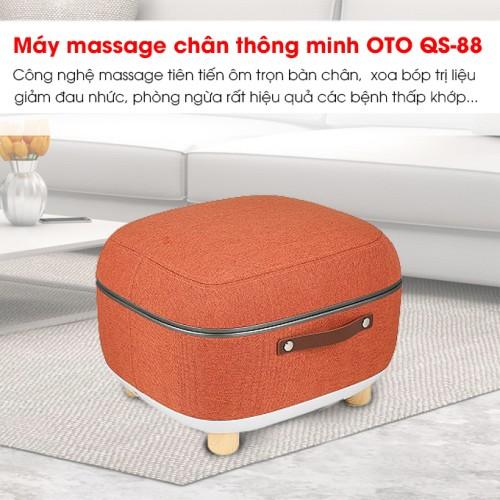 Máy massage chân QSeat OTO QS-88 (màu cam)