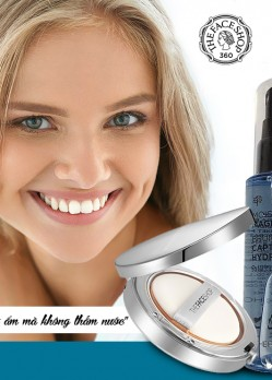 Set Phấn tươi và xịt khoáng 60 SEC Magnetic Moisture Set The Face Shop